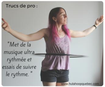 Comment faire du hula-hoop à la taille