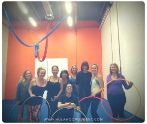 Atelier de hula-hoop