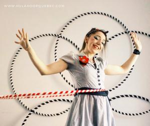 Hula-hoop rétro
