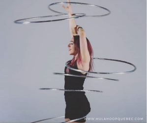 6 hula-hoops